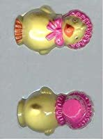Hollow 3-D Chick With Hat Candy Mold by Unknown [並行輸入品]