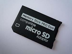 microSD → メモリースティック Pro Duo 変換アダプタGekiten