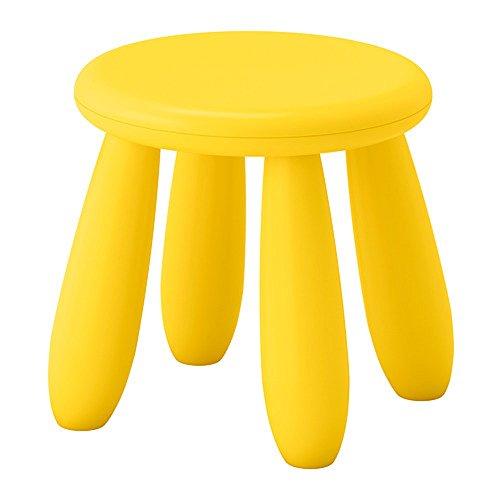 RoomClip商品情報 - IKEA/イケア MAMMUT 子供用スツール イエロー 90382325