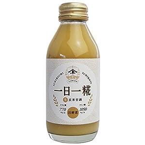 ヤマト醤油味噌 生玄米甘酒 一日一糀 140ml