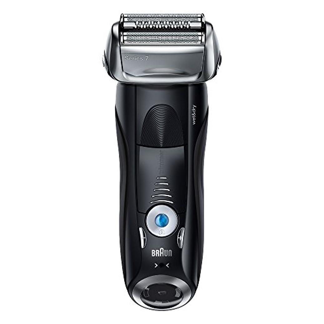 スパイラルその後マイクブラウン メンズ電気シェーバー シリーズ7 7842s 4カットシステム 水洗い/お風呂剃り可