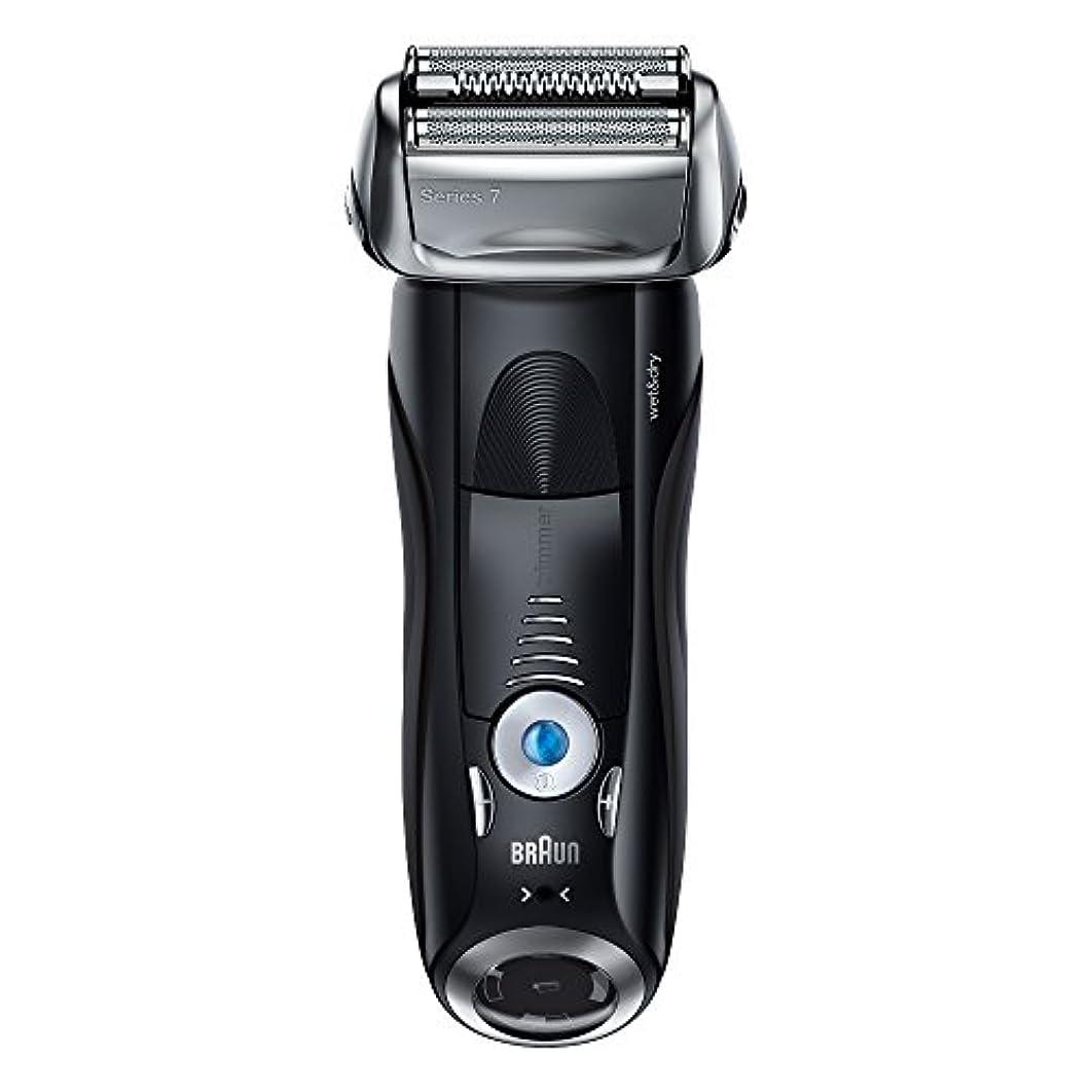 グラディスパッケージ繊細ブラウン メンズ電気シェーバー シリーズ7 7842s 4カットシステム 水洗い/お風呂剃り可