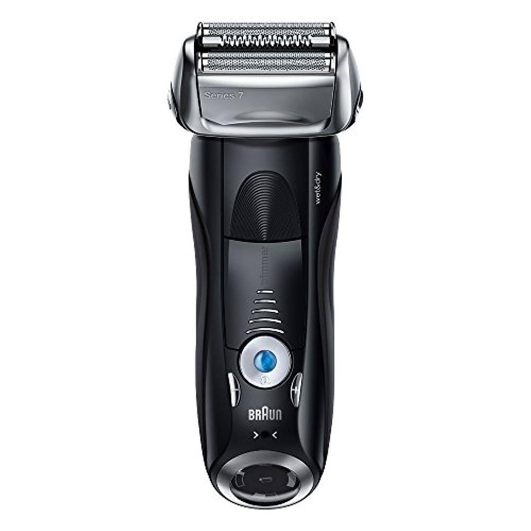 控えめなひそかに俳優ブラウン メンズ電気シェーバー シリーズ7 7842s 4カットシステム 水洗い/お風呂剃り可