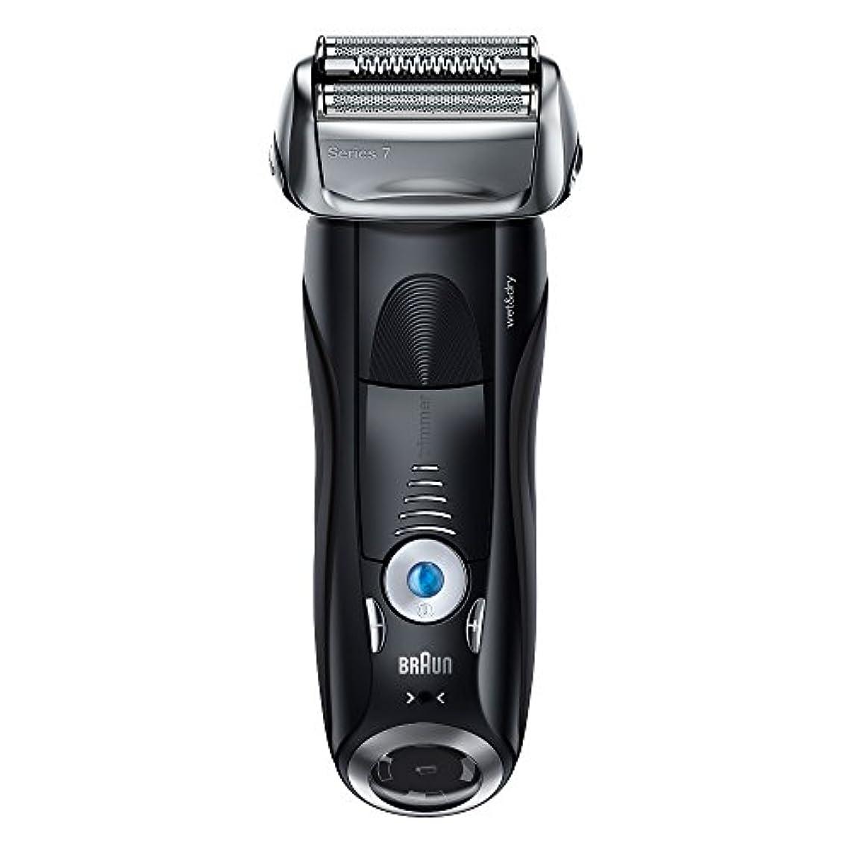 エッセイ気配りのある意気消沈したブラウン メンズ電気シェーバー シリーズ7 7842s 4カットシステム 水洗い/お風呂剃り可