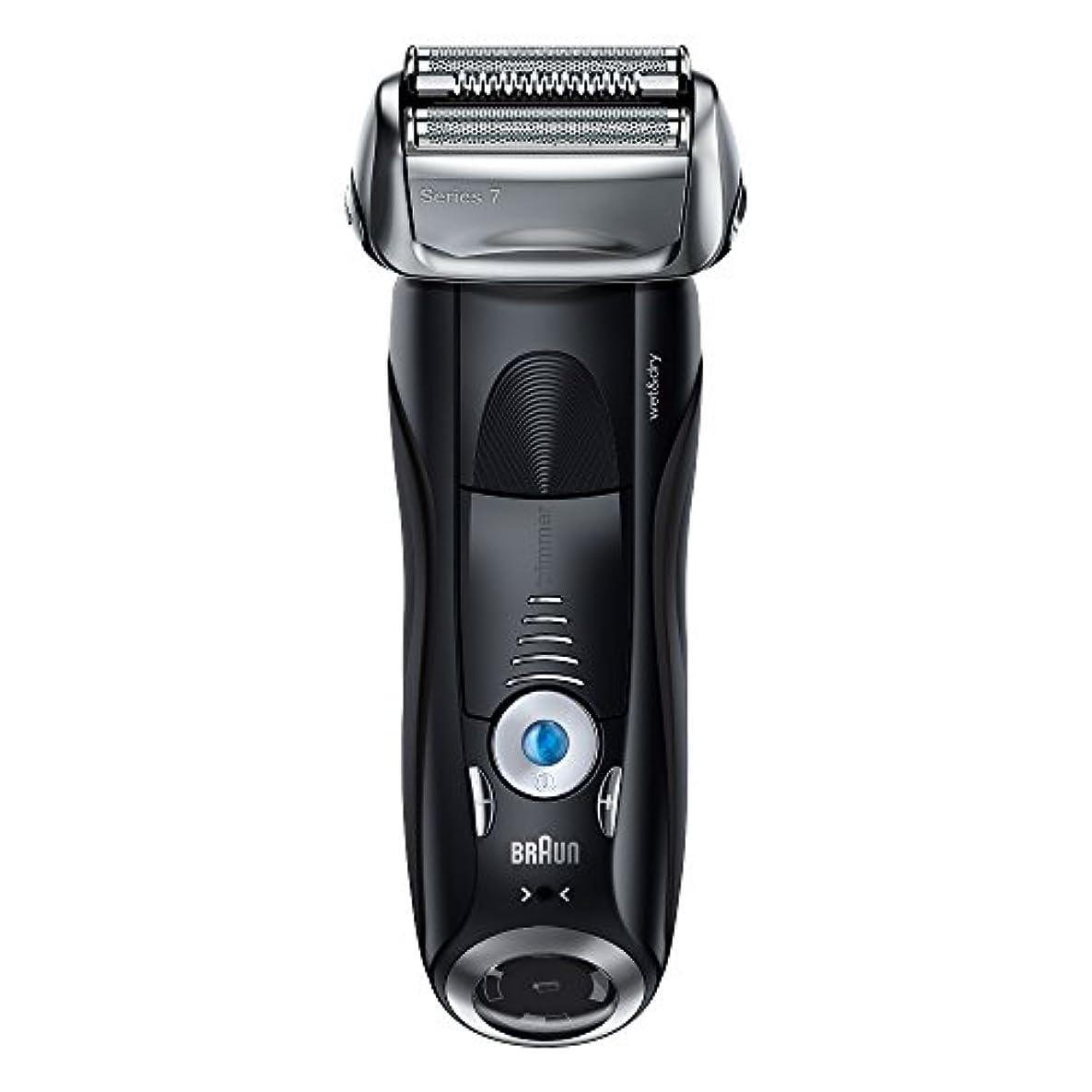 証明伸ばす今日ブラウン メンズ電気シェーバー シリーズ7 7842s 4カットシステム 水洗い/お風呂剃り可