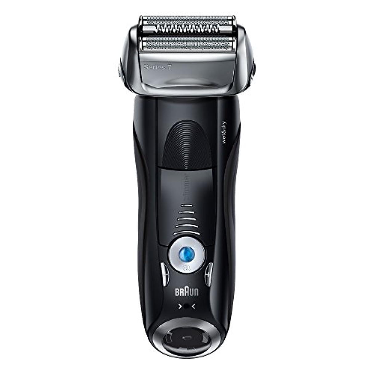 モニター軌道生じるブラウン メンズ電気シェーバー シリーズ7 7842s 4カットシステム 水洗い/お風呂剃り可