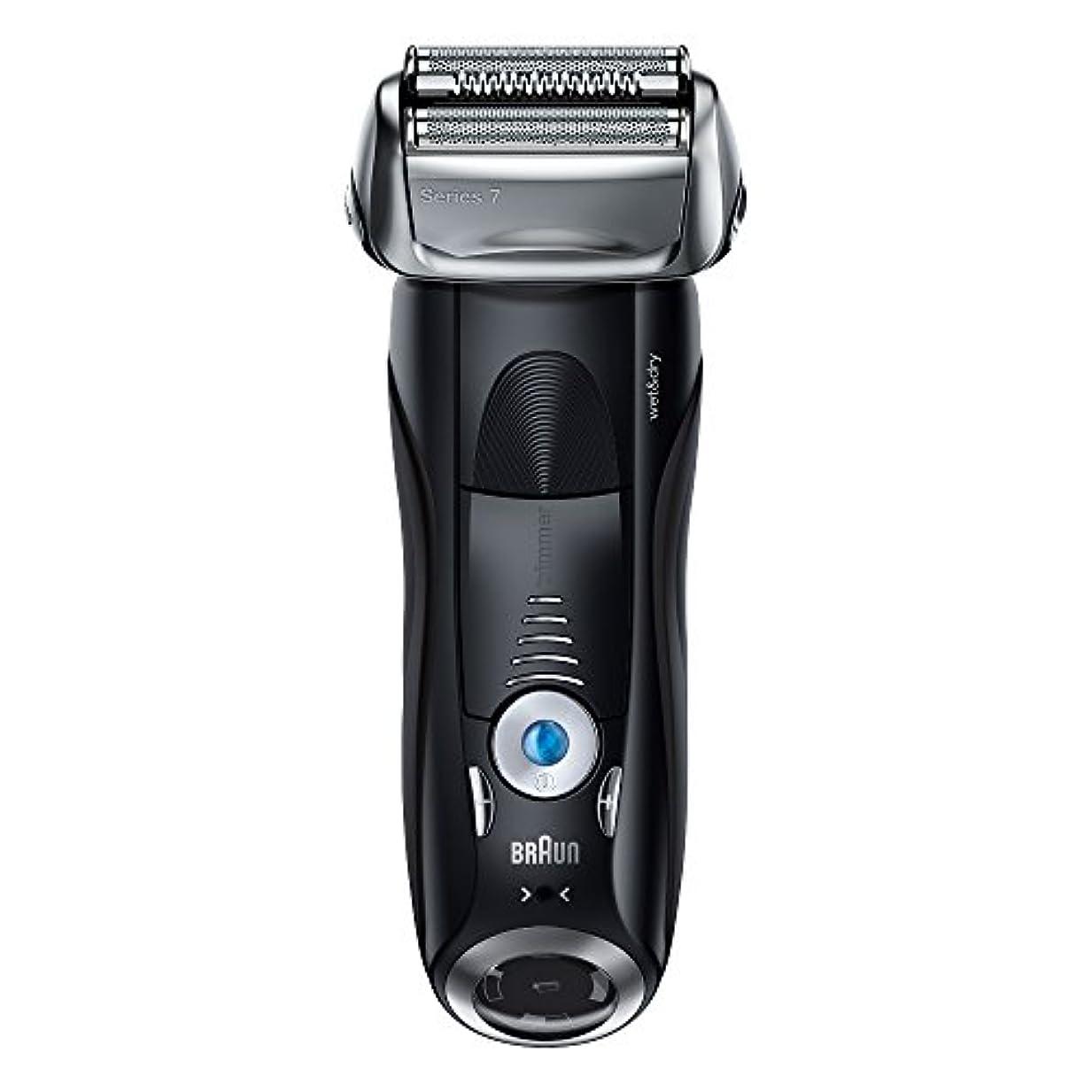 満了メロン対応ブラウン メンズ電気シェーバー シリーズ7 7842s 4カットシステム 水洗い/お風呂剃り可