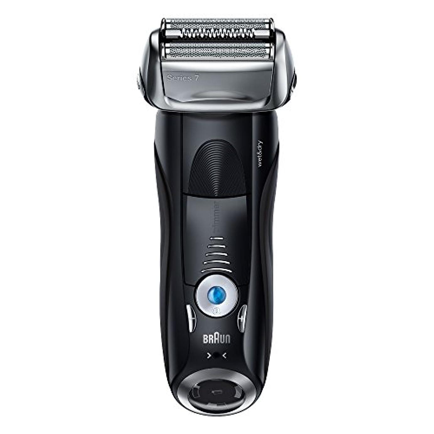 グラム優遇お手入れブラウン メンズ電気シェーバー シリーズ7 7842s 4カットシステム 水洗い/お風呂剃り可
