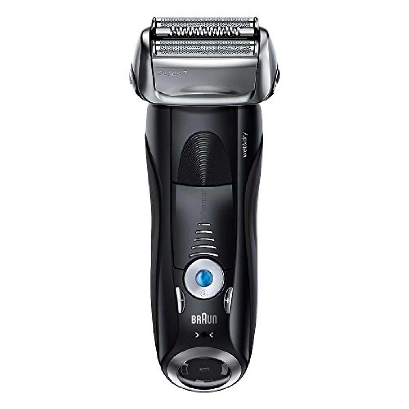 解放する役立つマウスブラウン メンズ電気シェーバー シリーズ7 7842s 4カットシステム 水洗い/お風呂剃り可