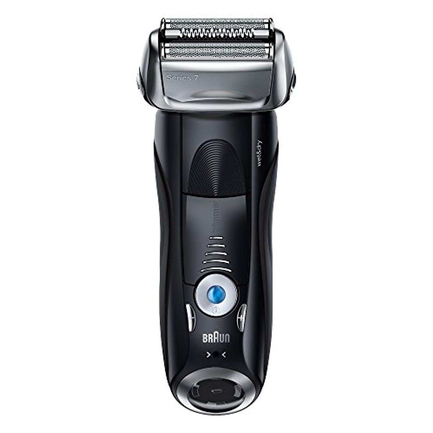 ウェイトレスクーポンワゴンブラウン メンズ電気シェーバー シリーズ7 7842s 4カットシステム 水洗い/お風呂剃り可