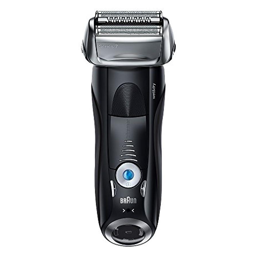 代理人無限甘やかすブラウン メンズ電気シェーバー シリーズ7 7842s 4カットシステム 水洗い/お風呂剃り可