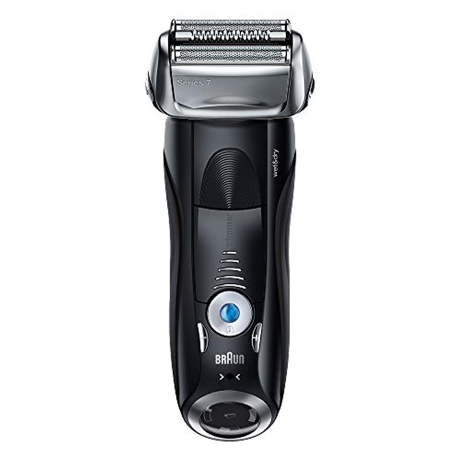 教える活性化する海峡ブラウン メンズ電気シェーバー シリーズ7 7842s 4カットシステム 水洗い/お風呂剃り可