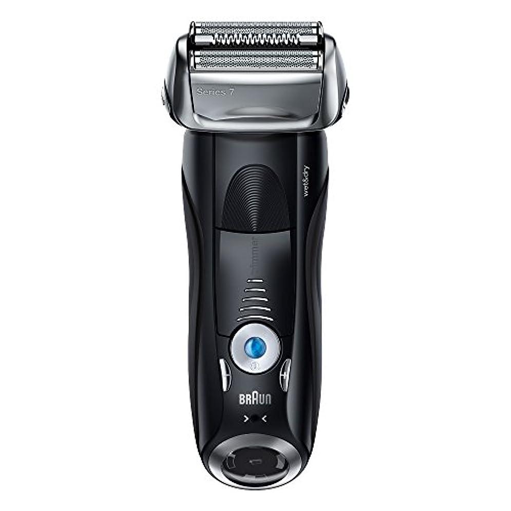 番号レンジ行方不明ブラウン メンズ電気シェーバー シリーズ7 7842s 4カットシステム 水洗い/お風呂剃り可