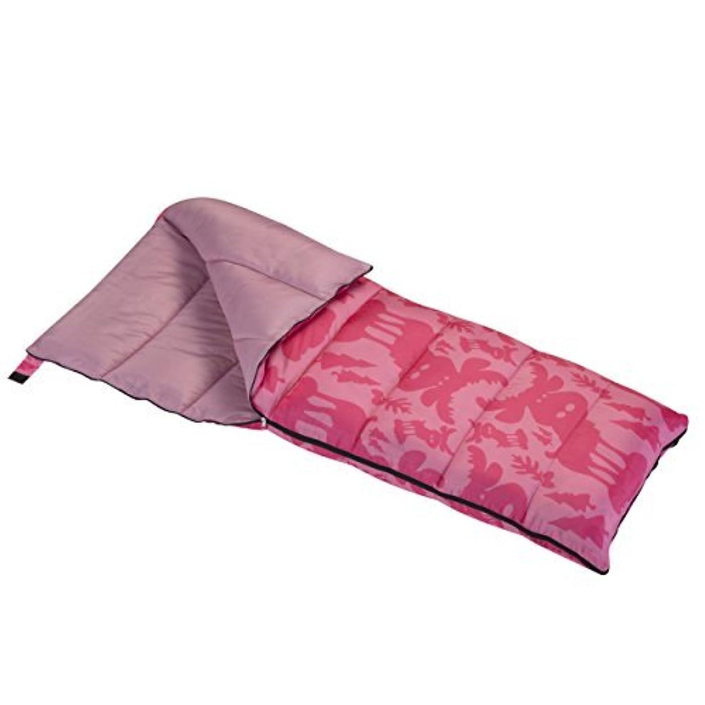 舌説教する弁護士Wenzel Moose 40 Degree Sleeping Bag - Pink [並行輸入品]
