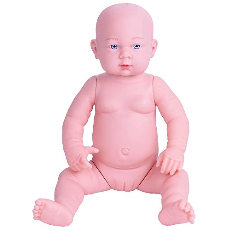 ベビー ケア トレーニング モデル 新生児 赤ちゃん 人形 50CM マネキン 模型 モデル 沐浴 の 練習 などに リアル な 医学 救急 育児 講座 授業 体験 産科 看護 助産 妊婦 乳児 教育 (女の子)