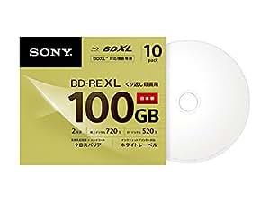 SONY ビデオ用ブルーレイディスク (10枚パック)10BNE3VCPS2