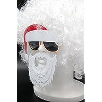 [XPデザイン] クリスマス サンタクロース 仮装 変身 なりきり 白髪 ウィッグ カツラ コスチューム (サンタくちひげサングラス+ウィッグ)