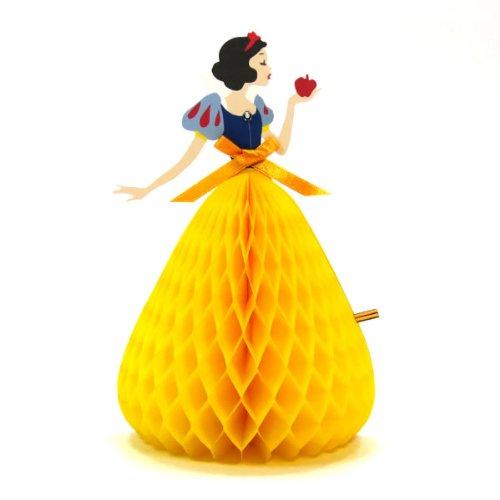 ディズニーハニカム多目的カード 白雪姫 hc-1000050533 立てて飾れます お誕生祝い/グリーティングカード APJ/アートプリントジャパン