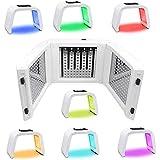 7色LEDマスク光線療法美容機器光線力学マスク機器分光計肌の若返りデバイス,7
