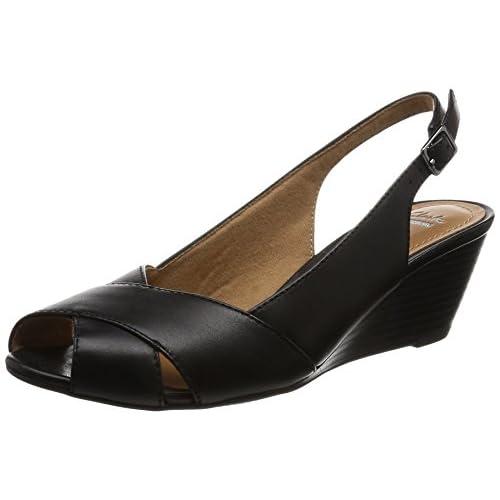[クラークス] パンプス レディース ブリーレカエ 26124401 Black Leather ブラックレザー UK 5(24cm)