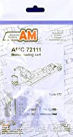 Advanced Modeling 1/72スケール 樹脂製ボムロードカート - AMC72111