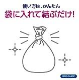 驚異の防臭袋 BOS (ボス) 生ゴミが臭わない袋 生ゴミ処理袋【袋カラー:白】 (Mサイズ 90枚入) 画像