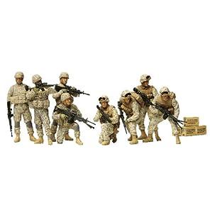 タミヤ 1/35 ミリタリーコレクションシリーズ No.06 アメリカ陸軍 現用歩兵 イラク戦争 人形8体セットプラモデル 32406