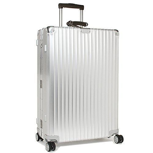 (リモワ) RIMOWA リモワ スーツケース RIMOWA 971.70.00.4 CLASSIC FLIGHT クラシックフライト 74.5CM 78L 4輪 TSAロック付き キャリーケース SILVER [並行輸入品]