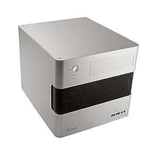 アビー abee PCケース acubic G40 冷却重視キューブ型 マイクロATXケース シルバーアルマイト ACE-G40-S