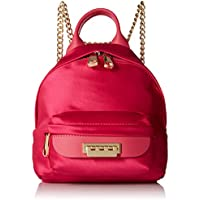 ZAC Zac Posen Eartha Iconic Micro Chain Backpack Fuchsia