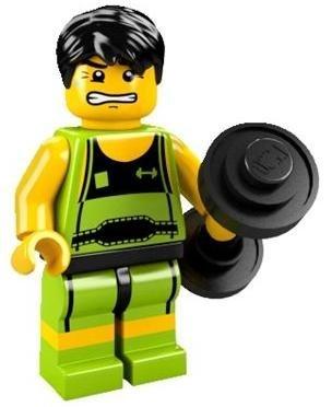 レゴ ミニフィギュア シリーズ2 ~SIDE A~ LEGO minifigures #8684 重量挙げ選手 ミニフィグ ブロック 積み木