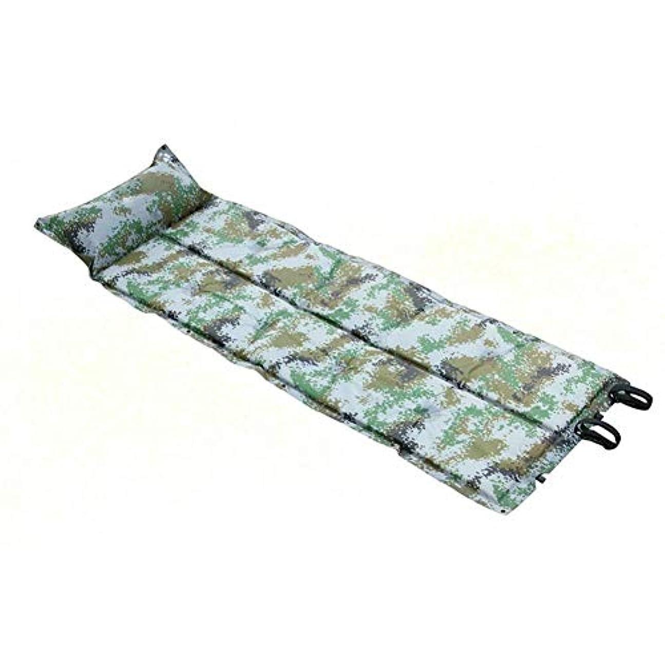 ジャベスウィルソン理解振り向く枕、キャンプの睡眠のマットの吹かれた枕空気パッドのキャンプのハイキングのテントのための携帯用キャンプのマットレスが付いている自己の膨脹可能なマット