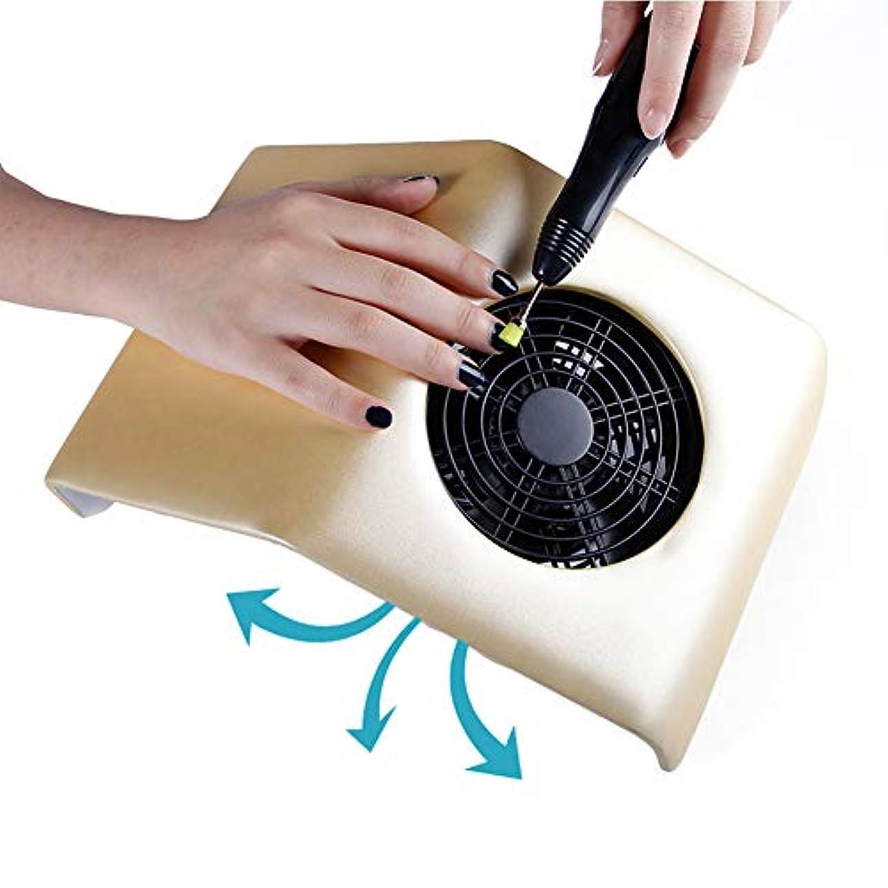 入り口答え死にかけているアクリルのゲルの釘のために再充電可能な携帯用釘の集じん器