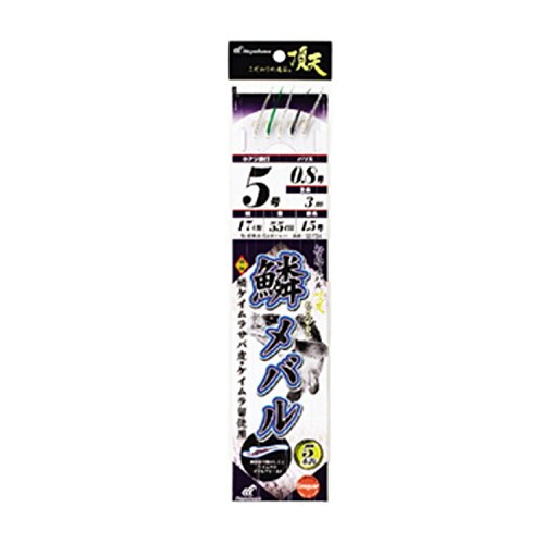 ハヤブサ(Hayabusa) 船極頂天 鱗メバル 5本鈎 1セット SD734 5-0.8-1.5