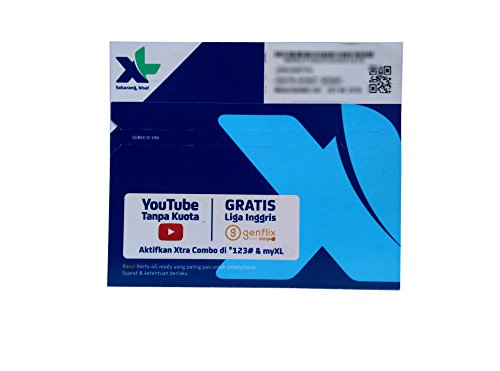 インドネシア SIMカード XL 3G 4G LTE アクティベーションが簡単!!電話 SMS データ通信可能