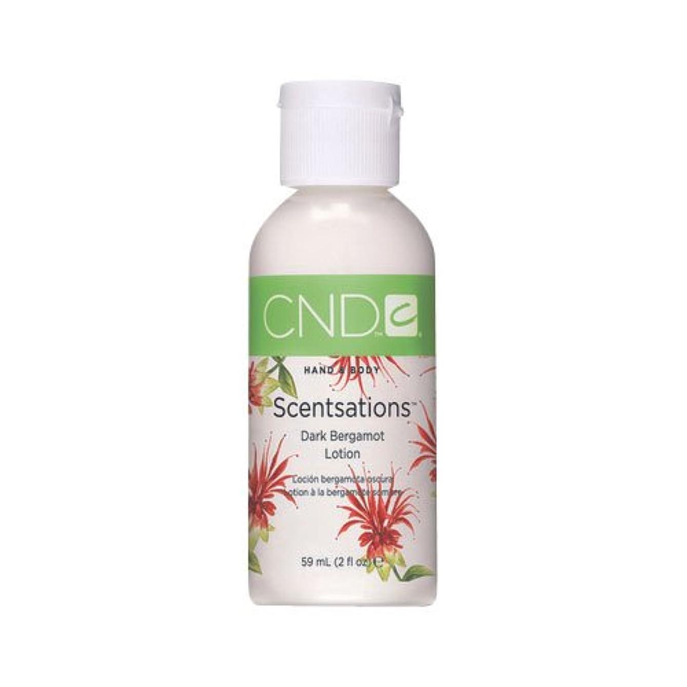 改修健康的遺伝的CND センセーション ハンド&ボディローション ダークベルガモット 59ml 濃厚で深く甘いベルガモットの香り