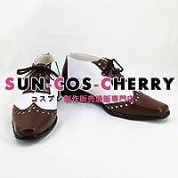 【サイズ選択可】コスプレ靴 ブーツ K-2124 VOCALOID ダイヤモンドダスト カイト kaito 男性26CM