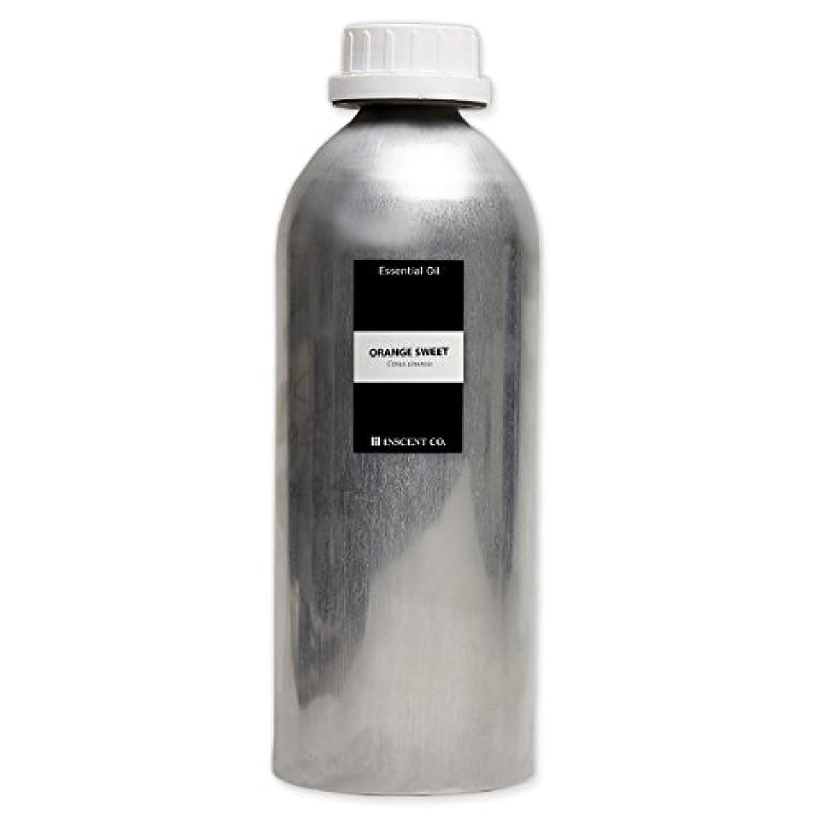 そっと統合する式(業務用) オレンジスイート 1000ml インセント アロマオイル AEAJ 表示基準適合認定精油