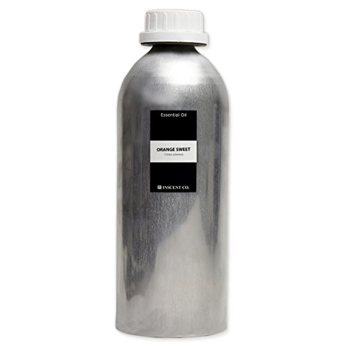 テロリスト胃抑制(業務用) オレンジスイート 1000ml インセント アロマオイル AEAJ 表示基準適合認定精油