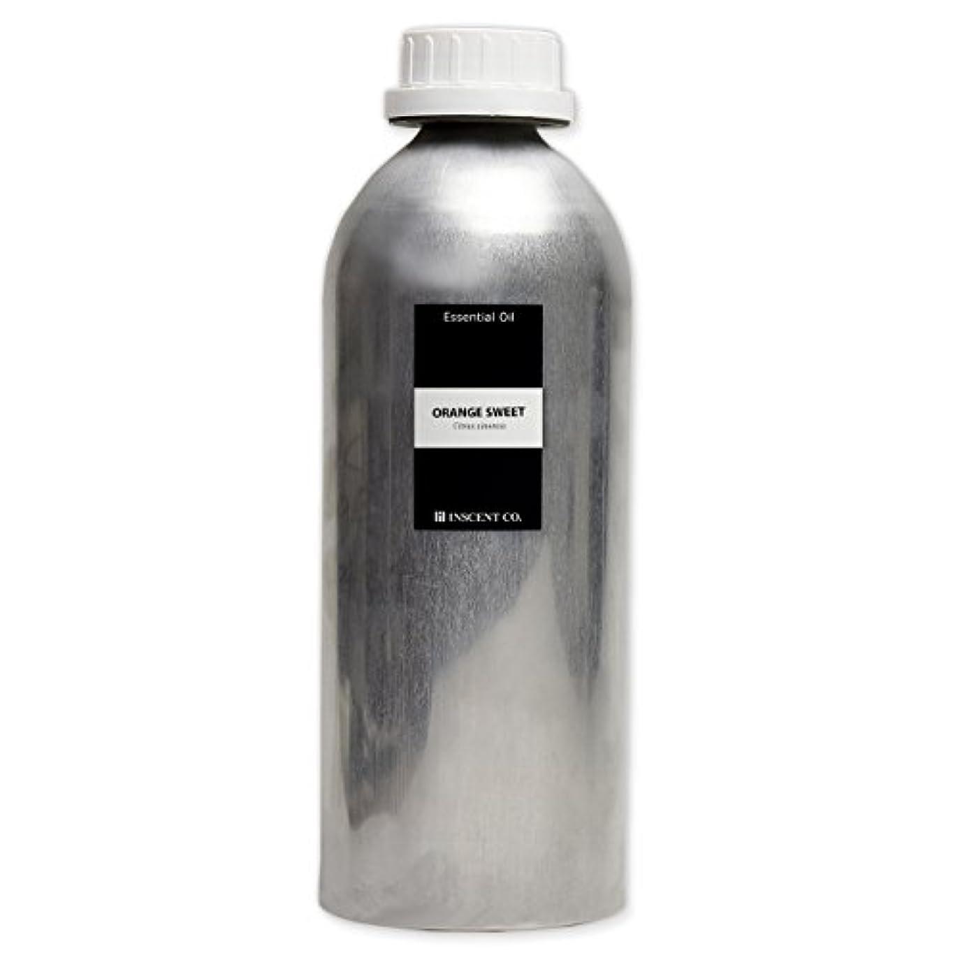 (業務用) オレンジスイート 1000ml インセント アロマオイル AEAJ 表示基準適合認定精油