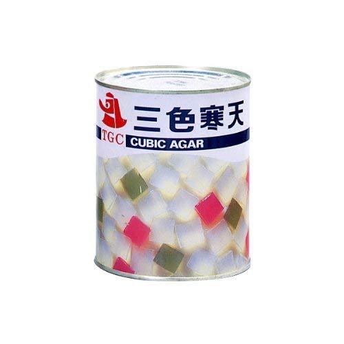 【業務用】天狗 三色寒天 2号缶(920g)【常温】