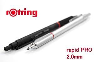 【ROTRING】ロットリング rapid PRO ラピッドプロ 2mmシャープペンブラック