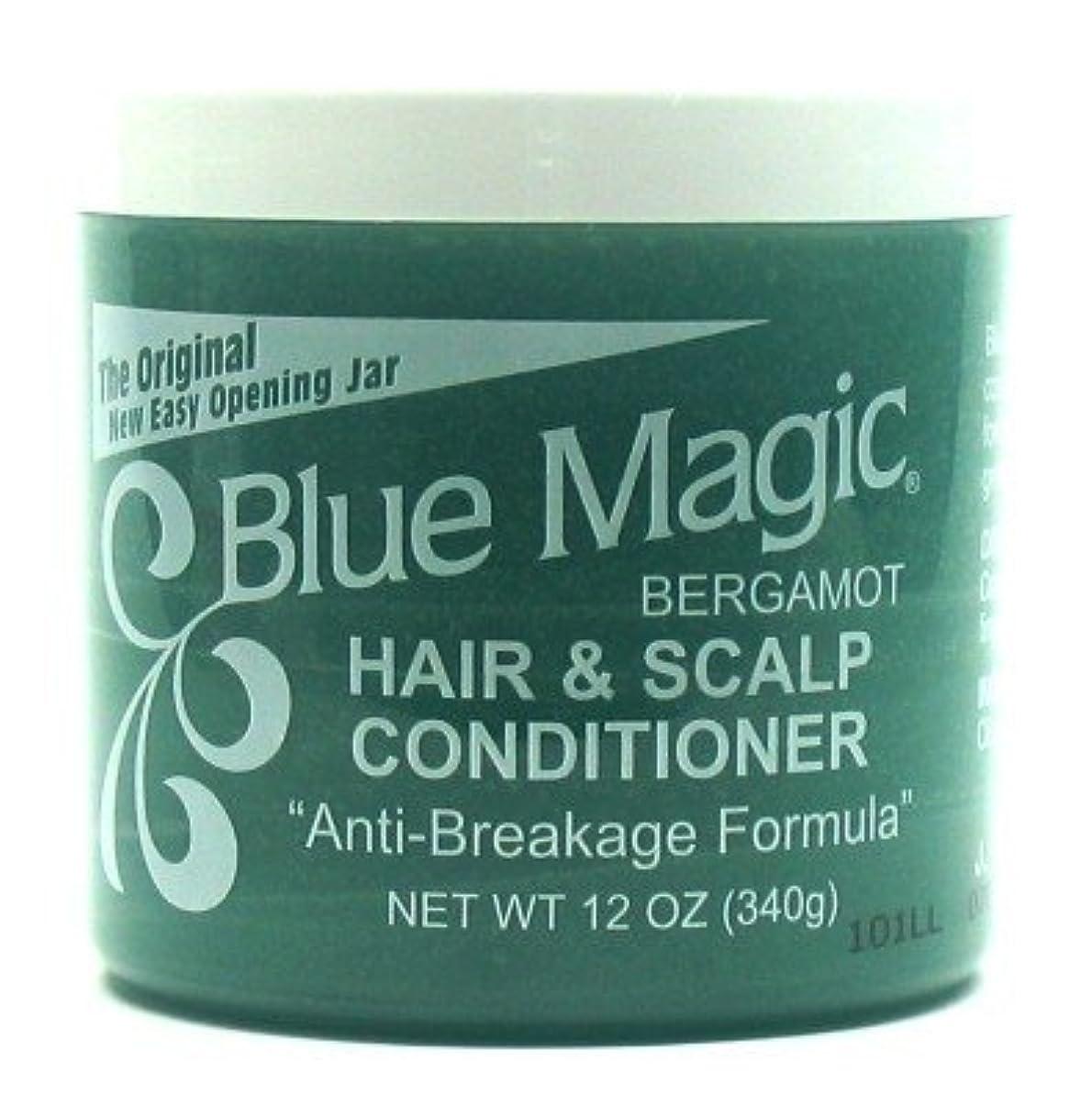 明らかに蒸し器帝国Blue Magic Bergamot Hair & Scalp 355 ml. Jar (Pack of 8) (並行輸入品)