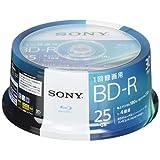 SONY ビデオ用ブルーレイディスク 30BNR1VJPP4(BD-R 1層:4倍速 30枚パック)