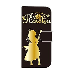 今井リサ iphone7手帳ケース〈黒・金〉