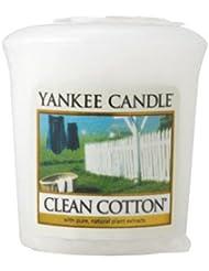 ヤンキーキャンドル 正規品 YCサンプラー クリーンコットン (YK0010501 4901435938219)