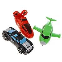 FLAMEER 車 飛行機 変換ロボット玩具 変形ロボットおもちゃ 磁気 組み立て ブロック おもちゃ