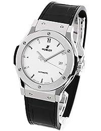 ウブロ クラシック フュージョン チタニウム オパリン アリゲーターレザー 腕時計 メンズ HUBLOT 542.NX.2611.LR[並行輸入品]