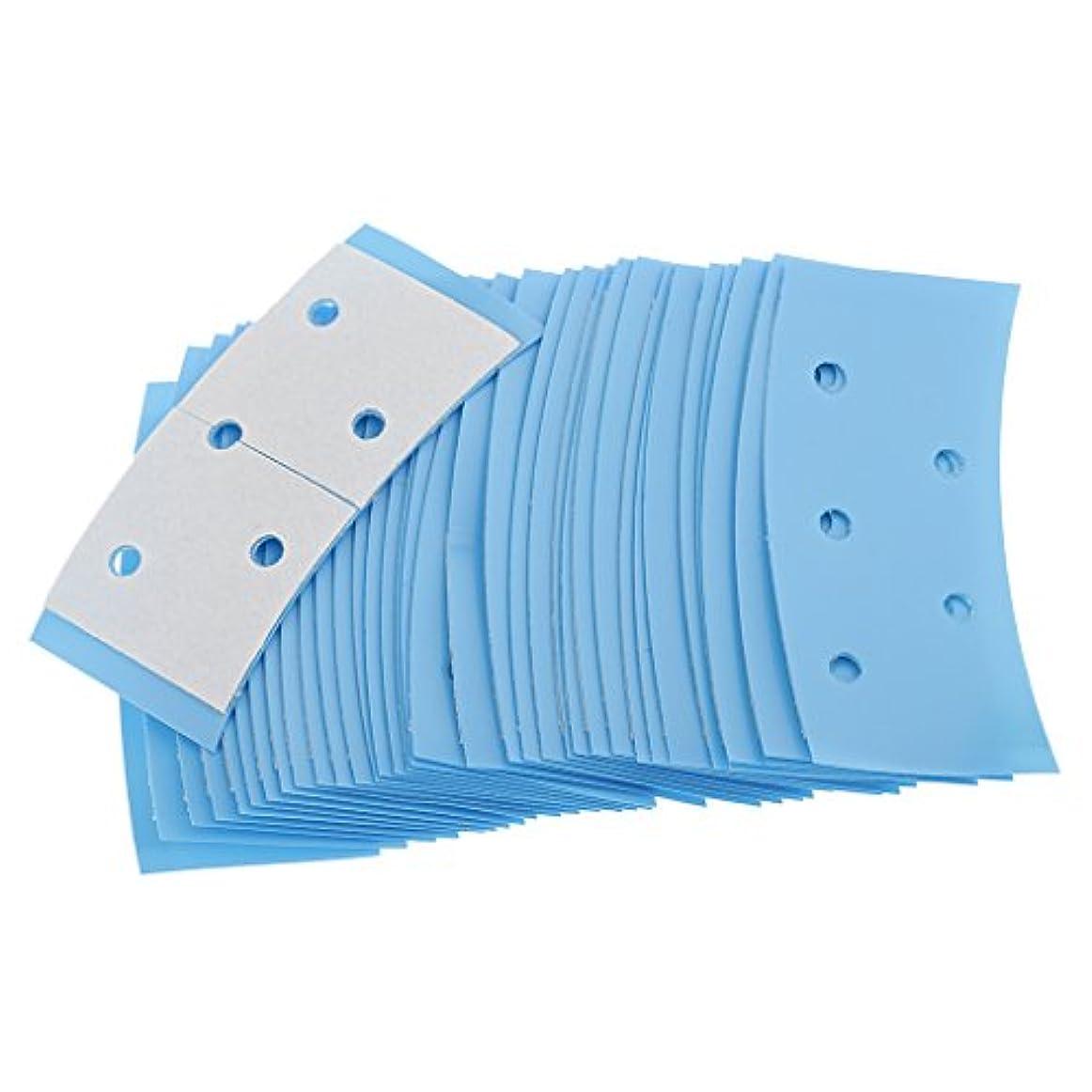 谷仲介者ベッドを作る両面接着テープ ヘアシステムテープ ダブルサイド かつら用 超強力持ち 約36枚