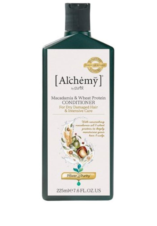 型植物学レコーダー【Al'chemy(alchemy)】アルケミー マカダミア&ホイート(小麦) コンディショナー(Macadamia & Wheat Protein Conditioner)(ドライ髪用)225ml